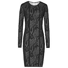 Buy Reiss Kitty Lace Dress, Black/Cream Online at johnlewis.com