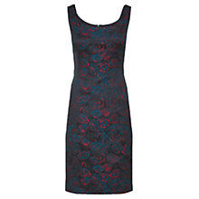 Buy Jigsaw Jewel Rose Dress, Peacock Online at johnlewis.com