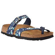 Buy Birkenstock Tabora Sandals, Suki Blue Online at johnlewis.com