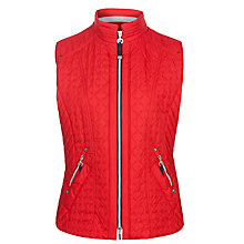 Buy Gerry Weber Contrast Zip Gilet Online at johnlewis.com