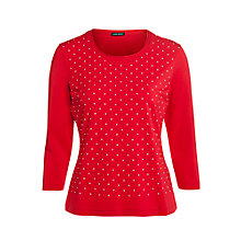 Buy Gerry Weber Stud Jersey Top Online at johnlewis.com