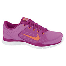 Buy Nike Women's Flex 3 Cross Trainers, Pink Online at johnlewis.com