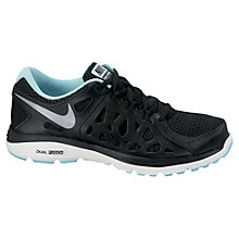 Buy Nike Women's Dual Fusion Run 2 Running Shoes, Black Online at johnlewis.com