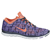 Buy Nike Women's Free 5.0 TR Fit 4 Cross Trainers, Purple Online at johnlewis.com