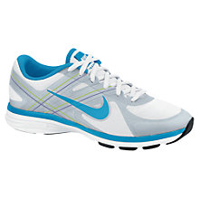 Buy Nike Women's Dual Fusion TR2 Cross Trainers, White/Blue Online at johnlewis.com