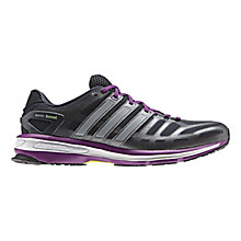 Buy Adidas Women's Sonic Boost Running Shoes, Night Shade/Vivid Pink/Tech Silver Online at johnlewis.com