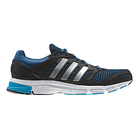 Buy Adidas Duramo Nova 2 Men's Running Shoes, Blue/Black Online at johnlewis.com