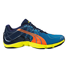 Buy Puma Men's Mobium Elite V2 Running Shoes, Blue Online at johnlewis.com