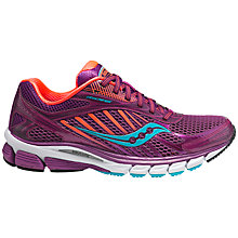 Buy Saucony Women's Ride 6 Running Shoes, Pink/Blue Online at johnlewis.com