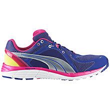 Buy Puma Women's Faas 600 S Running Shoe, Blue Online at johnlewis.com