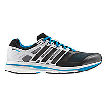 Buy Adidas Supernova Glide 6 Men's Running Shoes, Black/Blue Online at johnlewis.com