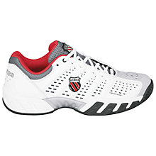 Buy K-Swiss Big Shot Light Tennis Shoes, White/Black Online at johnlewis.com