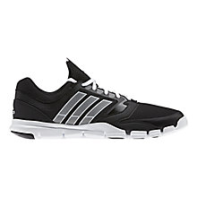 Buy Adidas Adipure 360 Men's Running Shoes, Black/White Online at johnlewis.com