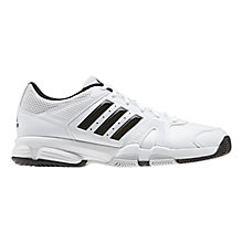 Buy Adidas Barracks F10 Cross Trainers, White Online at johnlewis.com