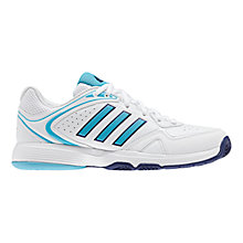Buy Adidas Women's Ambition VIII Tennis Shoes, White/Blue Online at johnlewis.com