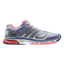 Buy Adidas Women's Supernova Sequence 6 Running Shoes, Silver/Blue Online at johnlewis.com
