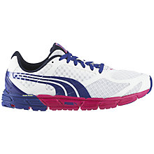 Buy Puma Women's Faas 500 S Running Shoe, White/Blue Online at johnlewis.com