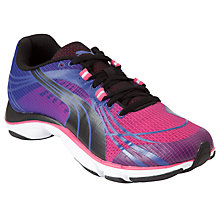 Buy Puma Women's Mobium Elite V2 Running Shoes, Blue/Pink Online at johnlewis.com