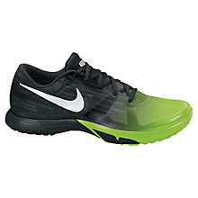 Buy Nike Men's Zoom Speed Trainers, Grey/Green Online at johnlewis.com