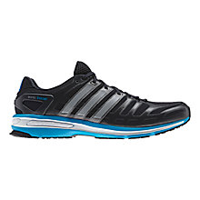 Buy Adidas Men's Sonic Boost Running Shoes, Navy/Blue Online at johnlewis.com
