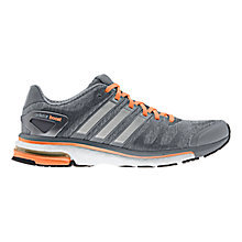 Buy Adidas Women's Adistar Boost Running Shoes, Grey/Orange Online at johnlewis.com