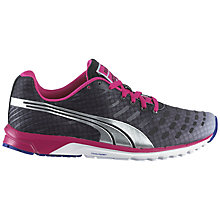 Buy Puma Women's Faas 300 v3 Running Shoe, Black/Red Online at johnlewis.com