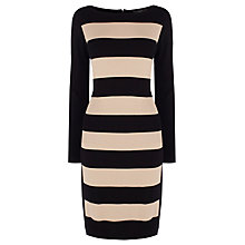 Buy Coast Tabbie Knitted Dress, Mono Online at johnlewis.com