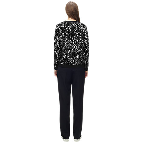 Buy Whistles Animal Jacquard Sculpture Knit, Ivory Online at johnlewis.com