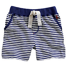 Buy Little Joule Boys' Bucaneer Striped Shorts, Blue/Multi Online at johnlewis.com