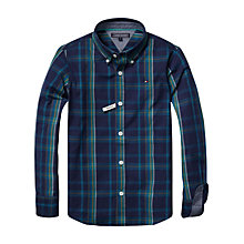 Buy Tommy Hilfiger Boys' Eastham Long Sleeve Check Shirt Online at johnlewis.com