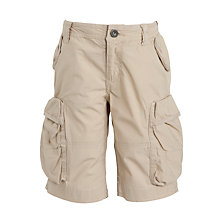 Buy Crew Clothing Boys' Dylan Shorts, Natural Online at johnlewis.com