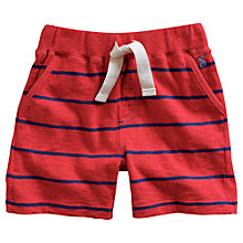 Buy Little Joule Boys' Bucaneer Stripe Shorts, Red/Blue Online at johnlewis.com
