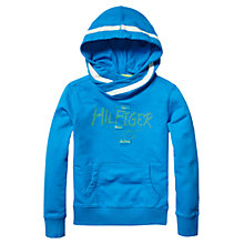 Buy Tommy Hilfiger Boy's Utah Hoodie, Blue Online at johnlewis.com