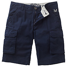 Buy Crew Clothing Boys' Cargo Shorts, Navy Online at johnlewis.com