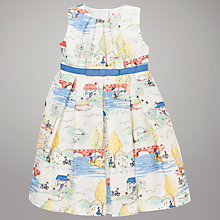 Buy John Lewis Country Scene Print Dress, Cream/Multi Online at johnlewis.com