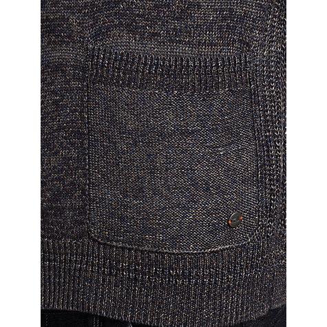 Buy BOSS Orange Koppero Cardigan, Navy Marl Online at johnlewis.com