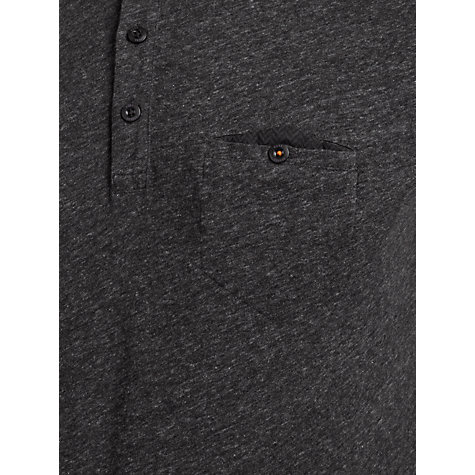 Buy BOSS Orange Pepin Polo Top, Charcoal Online at johnlewis.com