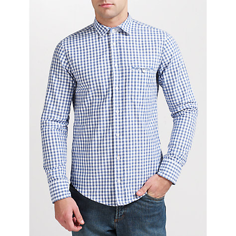 Buy BOSS Orange Efolke Gingham Check Shirt Online at johnlewis.com