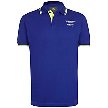 Buy Hackett London Aston Martin Collar Tip Polo Top Online at johnlewis.com