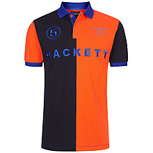 Buy Hackett London Split Tone Polo Shirt Online at johnlewis.com