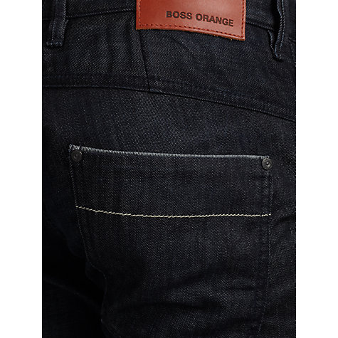 Buy BOSS Orange 60 Slim Straight Leg Jeans, India Ink Online at johnlewis.com