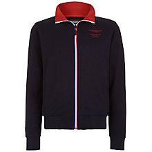 Buy Hackett London Aston Martin Racing Collar Tip Polo Top, Navy Online at johnlewis.com
