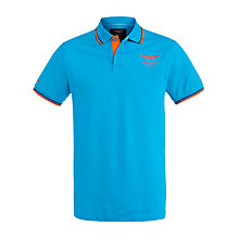 Buy Hackett London Aston Martin Collar Tip Polo Shirt Online at johnlewis.com