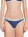 Elle Macpherson Intimates Daisy Chains Briefs, Insignia Blue / Retro Cream