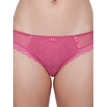 Buy Chantelle C Chic Sexy Briefs, Hot Pink Online at johnlewis.com