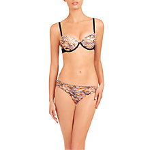 Buy Stella McCartney Marguerite Riding Contour Thong, Abstract Papaya Online at johnlewis.com