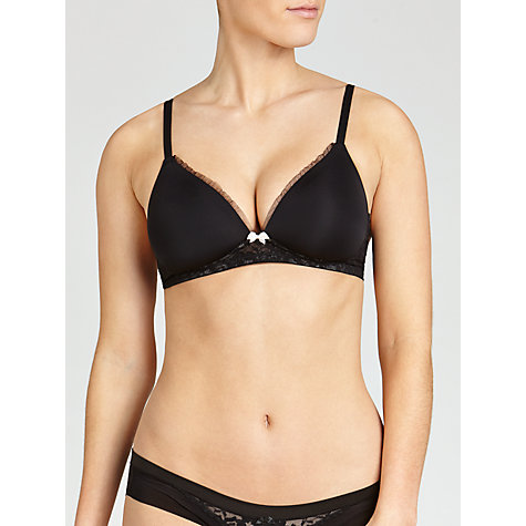 Buy DKNY Signature Lace Wirefree Bra Online at johnlewis.com