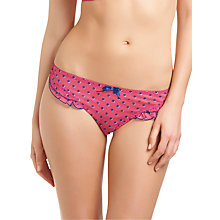 Buy Freya Patsy Frill Briefs, Fuchsia Online at johnlewis.com