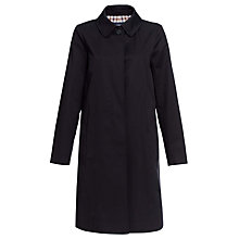Buy Aquascutum Dulwich Raincoat, Black Online at johnlewis.com