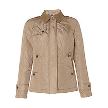 Buy Aquascutumn Courduroy Collar Quilted Jacket Online at johnlewis.com